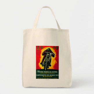 Gran Premio de Espana Vintage PosterEurope Tote Bag