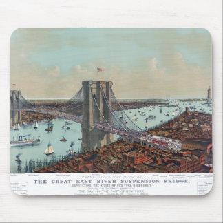 Gran puente colgante de East River Mousepad