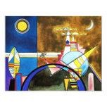 Gran puerta de Kandinsky de las invitaciones de Comunicado Personalizado