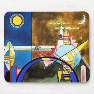 Gran puerta de Kandinsky del cojín de ratón de Kie Alfombrilla De Ratón