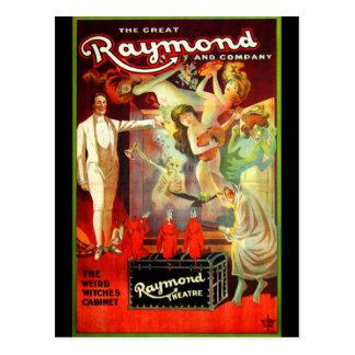 ¡Gran Raymond! Tarjeta Postal