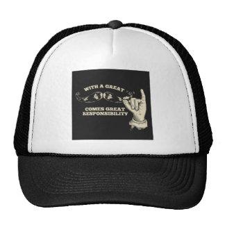 gran responsabilidad gorras