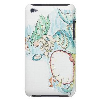 gran selección que lleva de la sirena Verde-haired iPod Touch Cárcasas
