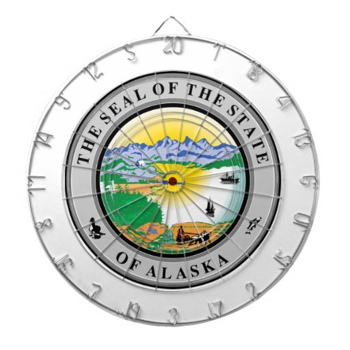 Gran sello de Alaska Tablero Dardos