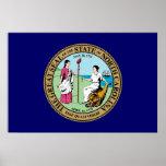 Gran sello de Carolina del Norte Impresiones