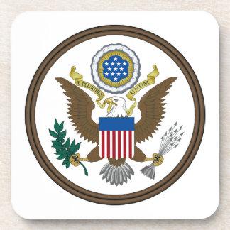 Gran sello de Estados Unidos Posavaso