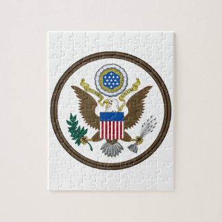 Gran sello de Estados Unidos Rompecabezas Con Fotos