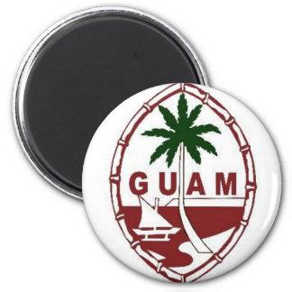 Gran sello de Guam Imán De Frigorífico