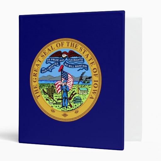 """Gran sello de Iowa Carpeta 1"""""""