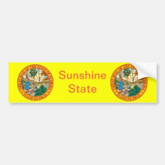 Gran sello de la Florida Pegatina Para Auto