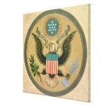 Gran sello de los Estados Unidos, c.1850 Impresión En Lona