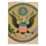 Gran sello de los Estados Unidos, c.1850 Felicitaciones