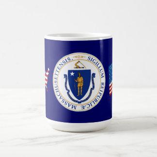 Gran sello de Massachusetts Taza