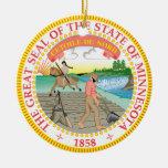 Gran sello de Minnesota Adorno De Reyes