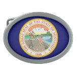 Gran sello de Minnesota Hebillas Cinturon Ovales