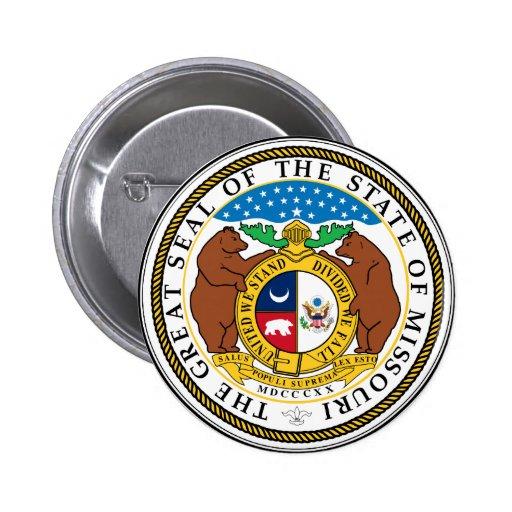 Gran sello de Missouri Pin