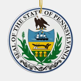 Gran sello de Pennsylvania Adorno Para Reyes