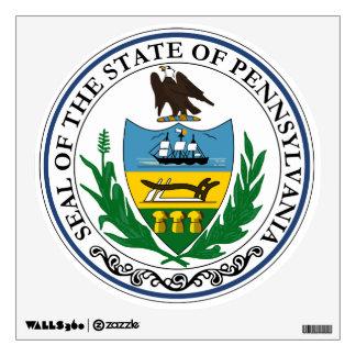 Gran sello de Pennsylvania Vinilo Decorativo