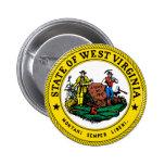 Gran sello de Virginia Occidental Pins
