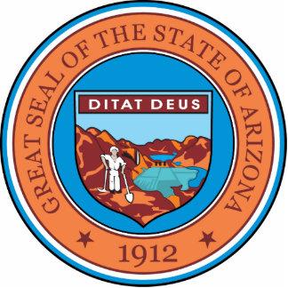 Gran sello del estado de Arizona Esculturas Fotograficas