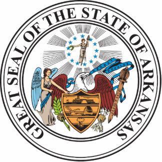 Gran sello del estado de Arkansas Esculturas Fotográficas