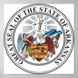 Gran sello del estado de Arkansas Impresiones