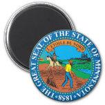 Gran sello del estado de Minnesota Iman Para Frigorífico
