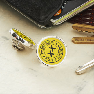 Gran sello del estado del Pin de la solapa de