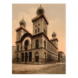 Gran sinagoga de Turín, Piamonte, Italia Tarjetas Postales