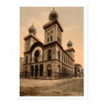 Gran sinagoga de Turín, Piamonte, Italia Tarjeta Postal