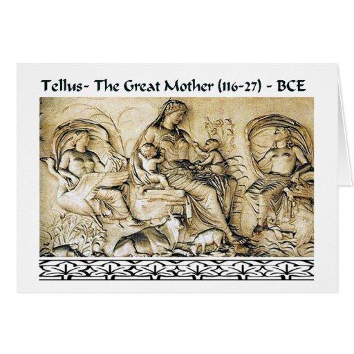 Gran tarjeta de la madre