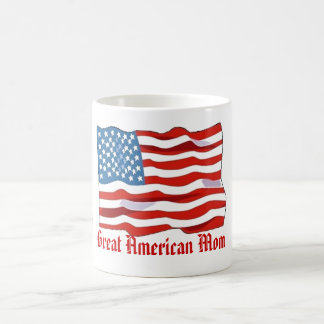 Gran taza americana de la mamá