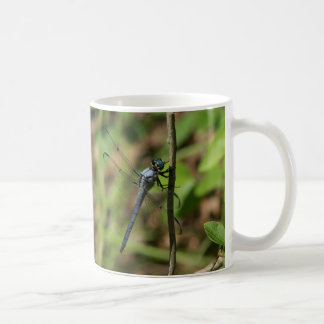 Gran taza azul de la desnatadora