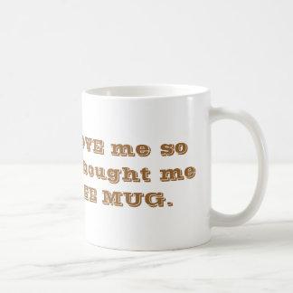 Gran taza de café del DÍA de PADRES