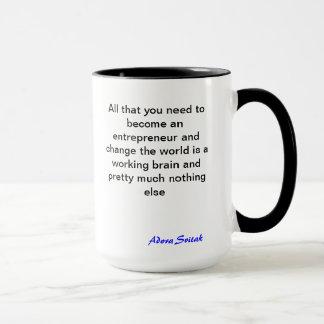 Gran taza de la cita sobre Entrepeneurship