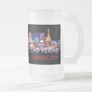 Gran taza de la ciudad de LAS VEGAS