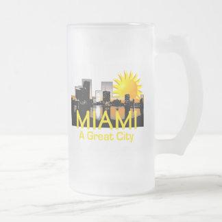 Gran taza de la ciudad de MIAMI