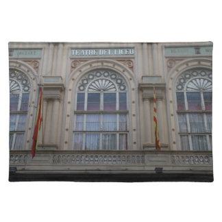 Gran Teatre del Liceu, Barcelona Placemat