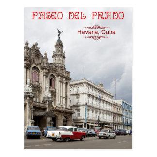 Gran teatro de La Habana, Paseo del Prado, Cuba Postal