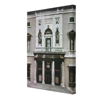 Gran Teatro La Fenice Canvas Print