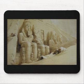 Gran templo Aboo Simbel de David Roberts Tapete De Ratón