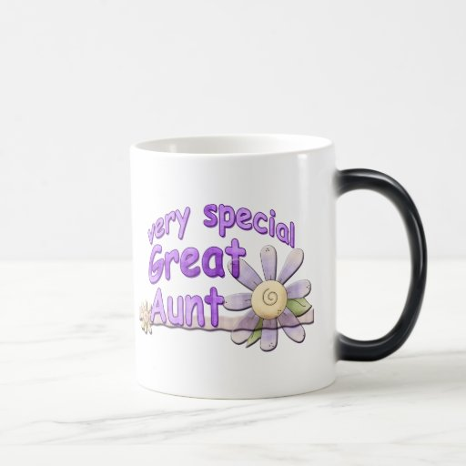 Gran tía muy especial Flower Taza De Café