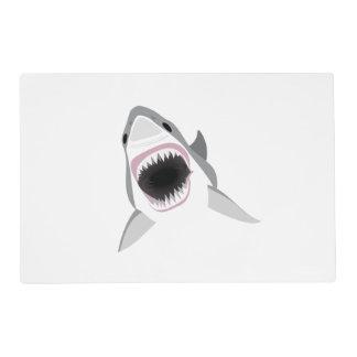 Gran tiburón blanco - ataque del tiburón salvamanteles