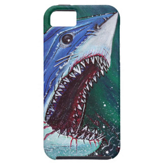 Gran tiburón blanco iPhone 5 cárcasas