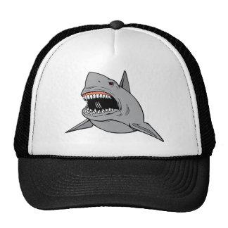 Gran tiburón blanco gorra