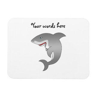 Gran tiburón blanco imanes flexibles