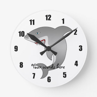 Gran tiburón blanco relojes