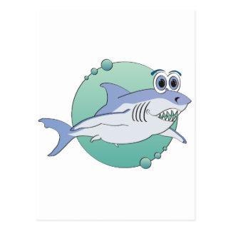 Gran tiburón postal