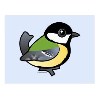 Gran Tit de Birdorable Tarjetas Postales