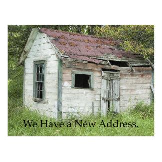Gran ubicación - cambio de tarjeta de la dirección postal